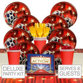 Movie Party Deluxe Kit( Serves 8)