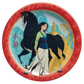 Mulan Lunch Plates (8)