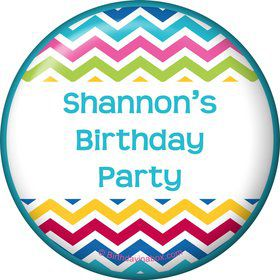 Multi Chevron Personalized Magnet (Each)