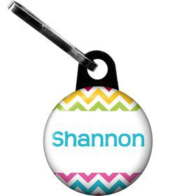 Multi Chevron Personalized Zipper Pull (Each)