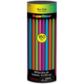 Multicolored Glow Bracelets (180 Count)