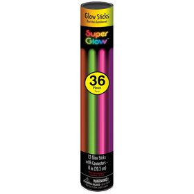 Multicolored Glow Bracelets (36 Count)