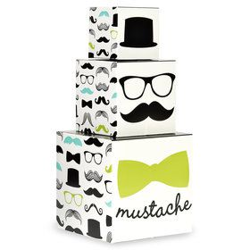 Mustache Man Centerpiece