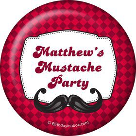 Mustache Personalized Magnet (Each)