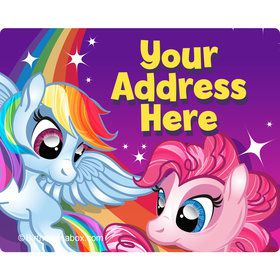 My Little Party Pony Personalized Address Labels (Sheet of 15)