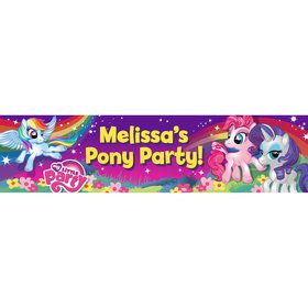 My Little Party Pony Personalized Banner (Each)