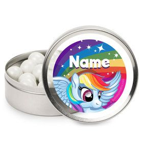 My Little Party Pony Personalized Mint Tins (12 Pack)