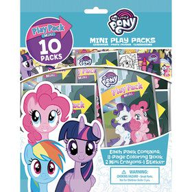 My Little Pony Mini Play Pack Set (10)