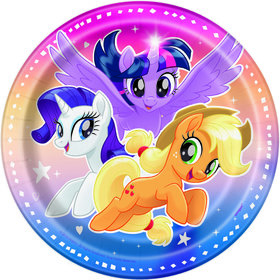My Little Pony Flying Ponies Dessert Plate (8)