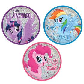 My Little Pony Friendship Adventures 7 Dessert Plate (8)