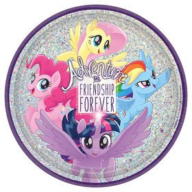 My Little Pony Friendship Adventures 9 Lunch Plate (8)