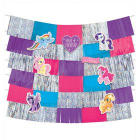 My Little Pony Friendship Adventures Deluxe 9Pc Backdrop Decor
