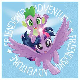 My Little Pony Friendship Adventures Beverage Napkins (16)