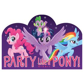My Little Pony Friendship Adventures Postcard Invite (8)