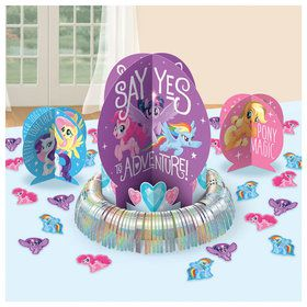 My Little Pony Friendship Adventures Table Decoration Kit