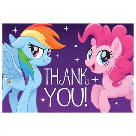 My Little Pony Friendship Adventures Postcard Thank You (8)