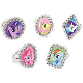 My Little Pony Jewel Rings Favors (18 pack)