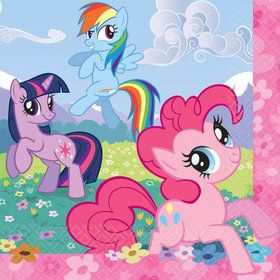 My Little Pony Lunch Napkins (16 pack)
