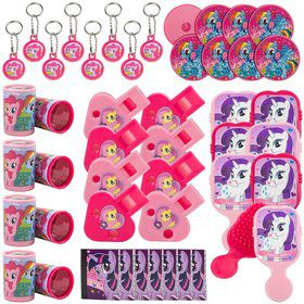 My Little Pony Friendship Magic Mega Mix Value Pack Favor (48pcs)