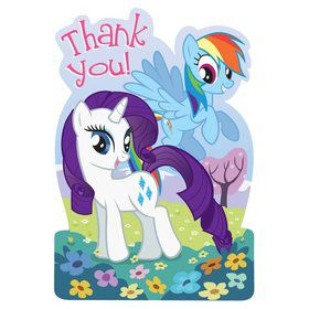 My Little Pony Postcard Thank You Cards (8 pack)
