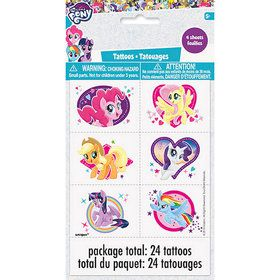 My Little Pony Tattoo Sheet (4)