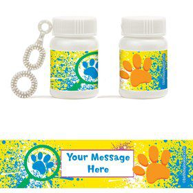Mystery Dog Personalized Bubbles (18 Pack)