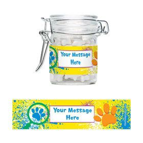 Mystery Dog Personalized Glass Apothecary Jars (12 Count)