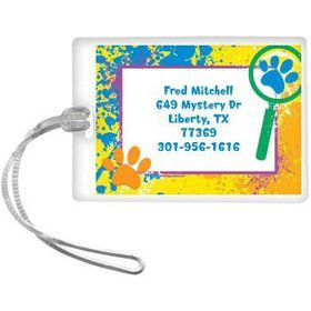 Mystery Dog Personalized Luggage Tag (each)