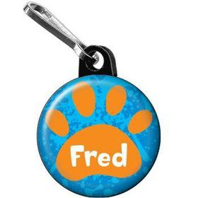 Mystery Dog Personalized Mini Zipper Pull (each)
