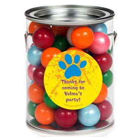 Mystery Dog Personalized Paint Can Favor Container (6 Pack)