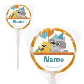 "Nature Blue Personalized 2"" Lollipops (20 Pack)"