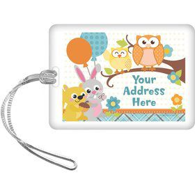 Nature Blue Personalized Luggage Tag (Each)