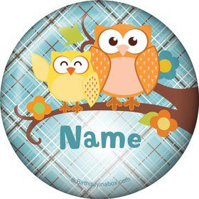 Nature Blue Personalized Magnet (Each)