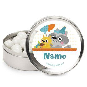 Nature Blue Personalized Mint Tins (12 Pack)