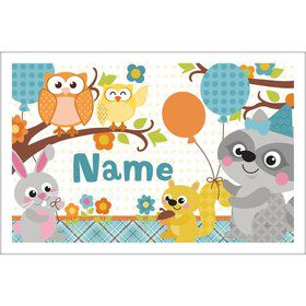 Nature Blue Personalized Placemat (Each)