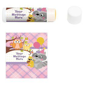 Nature Pink Personalized Lip Balm (12 Pack)