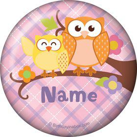 Nature Pink Personalized Magnet (Each)