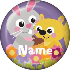 Nature Pink Personalized Mini Magnet (Each)