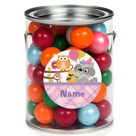 Nature Pink Personalized Paint Cans (6 Pack)