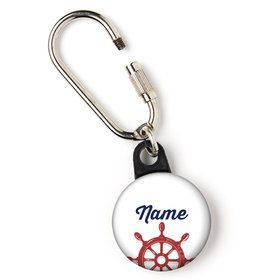 "Nautical Personalized 1"" Carabiner (Each)"