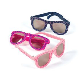 Nautical Pink Sunglasses (12 Count)
