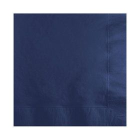 Navy Beverage Napkins