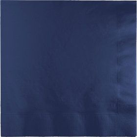 Navy Lunch Napkins (50)