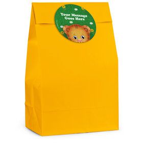 Neighborhood Tiger Personalized Favor Bag (12 Pack)