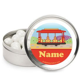 Neighborhood Tiger Personalized Mint Tins (12 Pack)