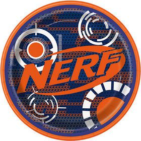"Nerf 9"" Plate (8)"