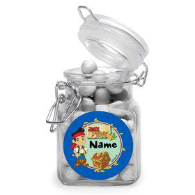 Never Land Pirates Personalized Glass Apothecary Jars (12 Count)