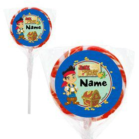 "Neverland Pirates Personalized 2"" Lollipops (20 Pack)"
