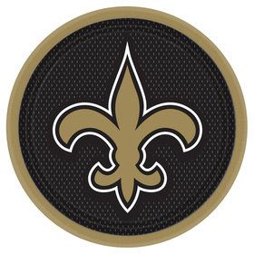 "New Orleans Saints 9"" Lunch Plates (8)"