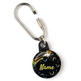 "New Years Pop Personalized 1"" Carabiner (Each)"